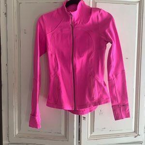 Lululemon pink athletic jacket